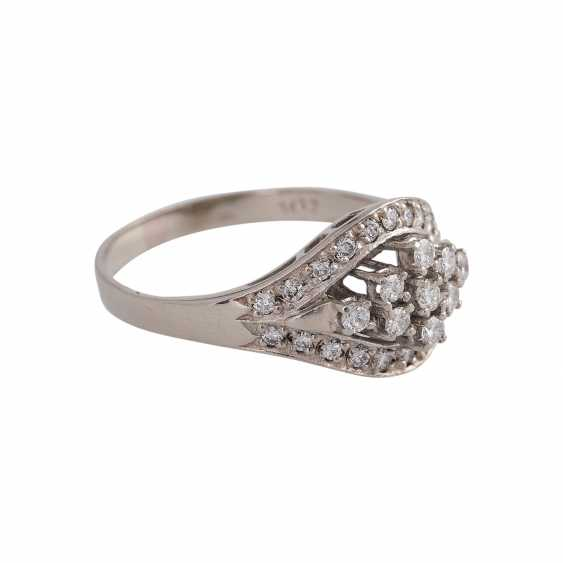 Ring-brilliant together approx 0.4 ct - photo 2