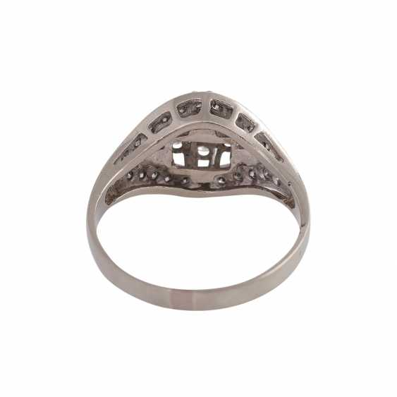 Ring-brilliant together approx 0.4 ct - photo 4