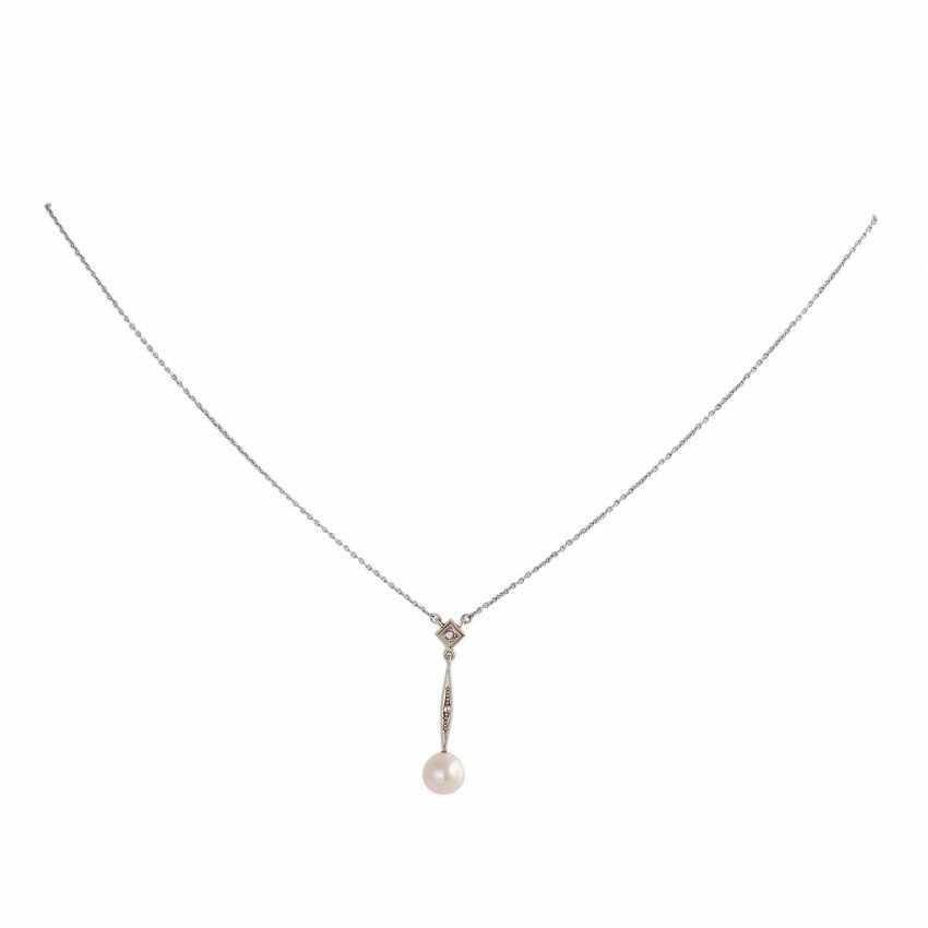 Art Deco, zierliches Necklace, - photo 1
