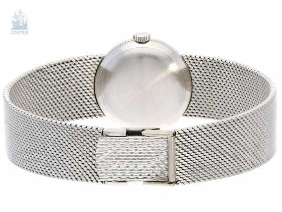 Watch: white gold vintage ladies watch from Chopard, high quality diamond bezel, a little worn,18K Gold - photo 2