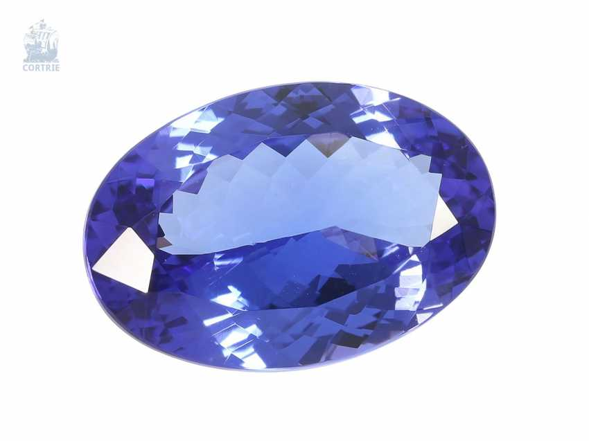 Tanzanite: very valuable tanzanite, top quality, 15,56 ct - photo 1