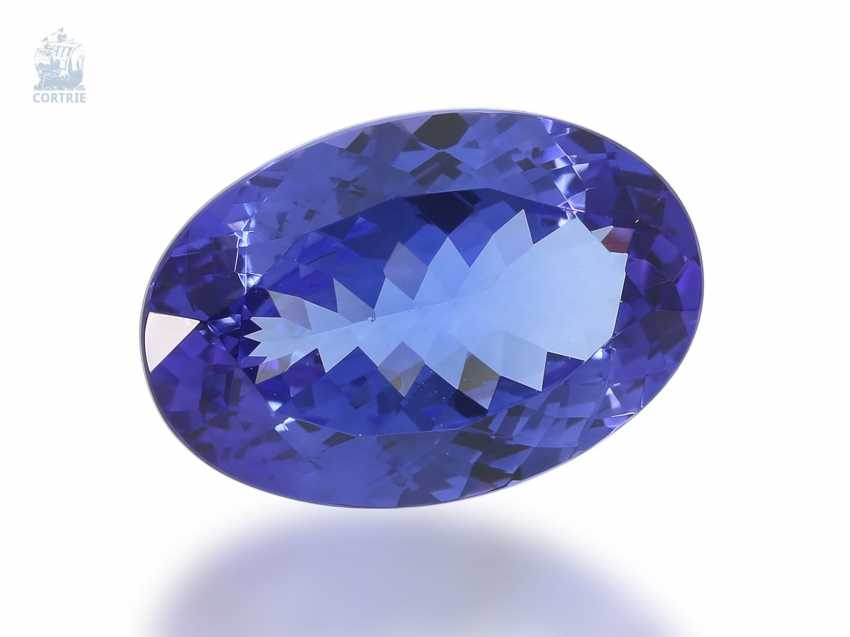 Tanzanite: very valuable tanzanite, top quality, 15,56 ct - photo 2