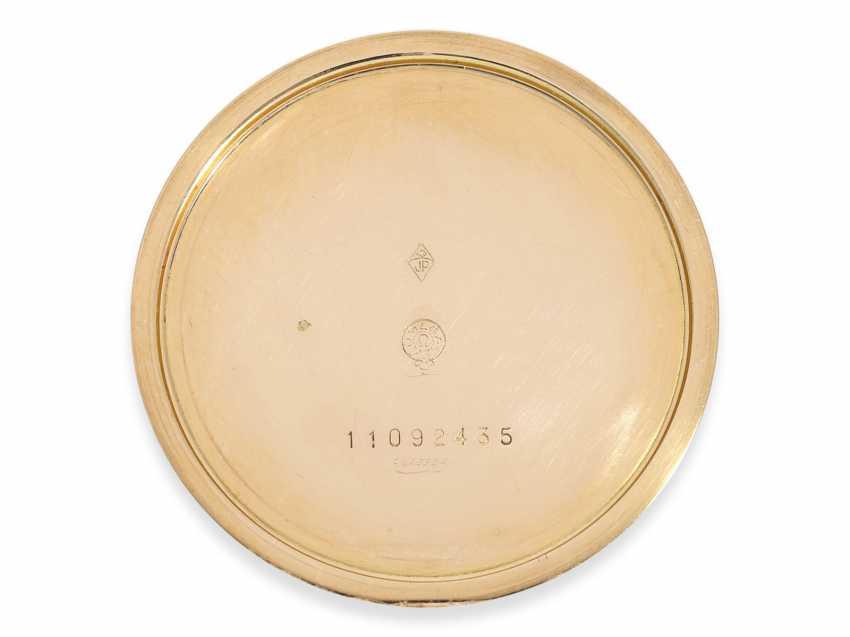 Карманные часы: крайне редкая арт деко Frackuhr Омега в 18-каратного розового золота, калибр T 37.5 / 17 P, 1945. - фото 3
