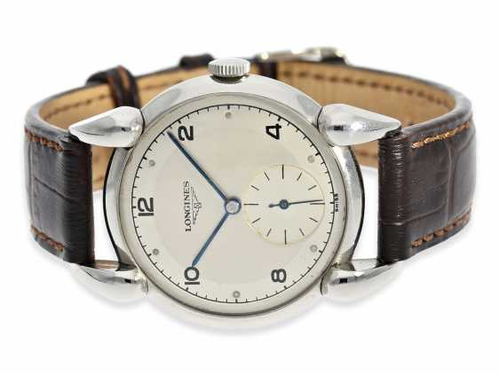 Watch: exceptional, large vintage mens watch, Longines, CA. 1945 - photo 1