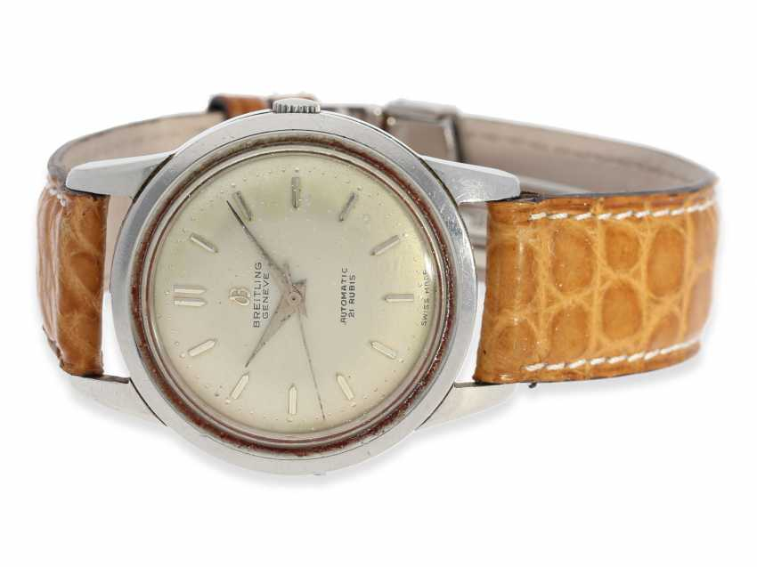 Watch: vintage stainless steel men's watch by Breitling, Ref. 2509, CA. 1950 - photo 1