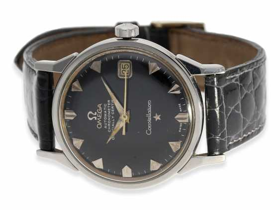 Watch: rare Omega Constellation Automatic chronometer with black dial, reference 14902 62 SC, 1962 - photo 1