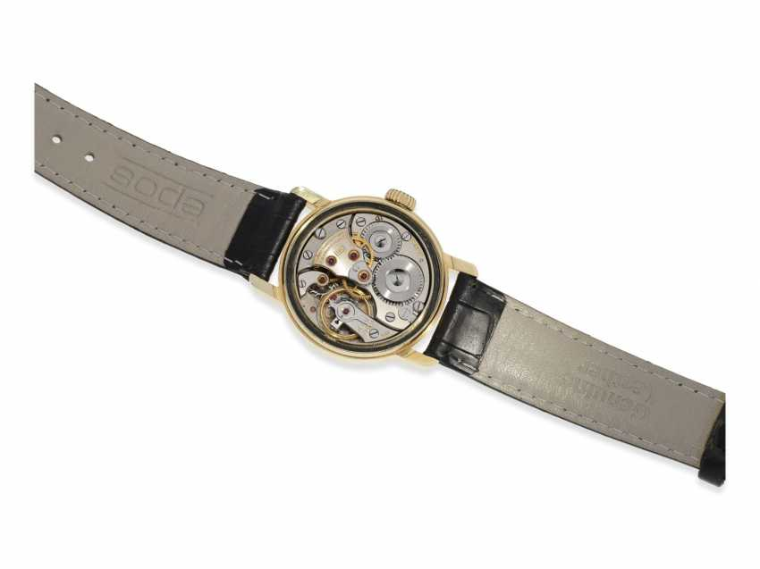 "Watch: early, early, early, gold, Longines men's watch with Central second, type ""Officier"", 40s - photo 4"