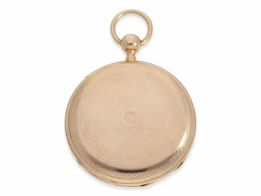Pocket watch: red-gold Lepine with quarter-hour-Repetition, France around 1820 - photo 2