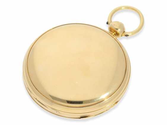 Pocket watch: early English Watch, of high fine quality, Henry Parkinson, London, No. 1352, Hallmarks London 1830 - photo 6