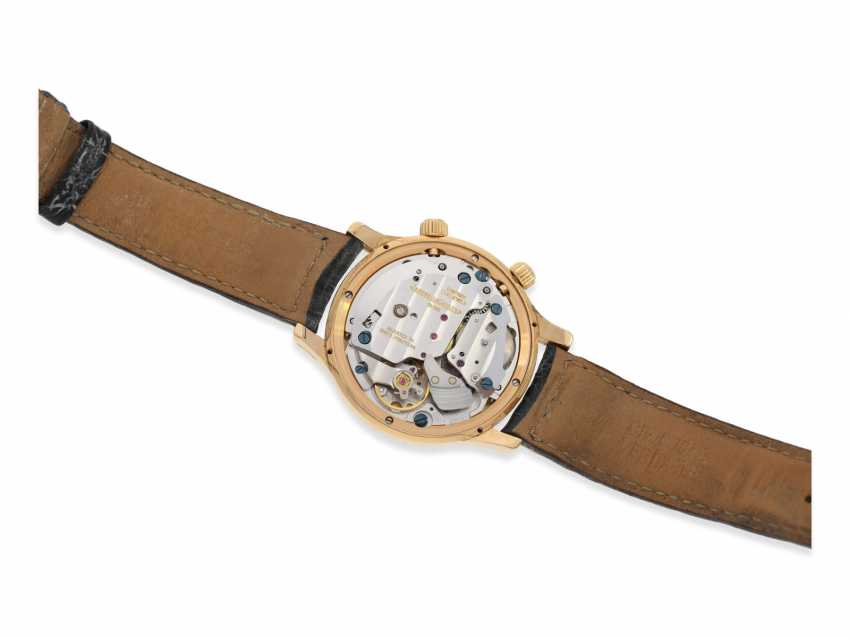 """Wrist watch: high quality men's watch, Jaeger-LeCoultre, """"Master Memovox"""" Ref.144.2.94, 18K rose gold - photo 4"""