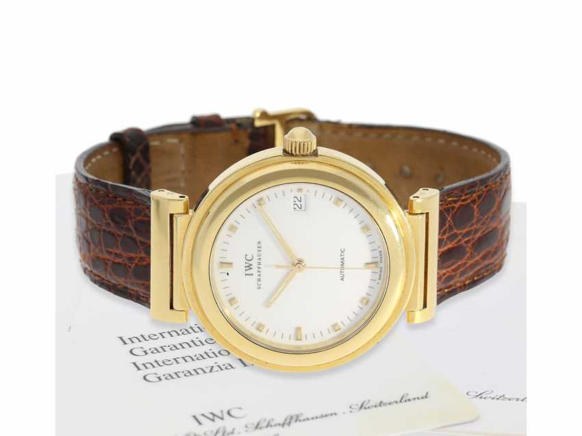 "Watch: heavy, luxurious IWC watch, IWC ""Da Vinci SL 37mm"", Ref.3528, with Box and papers from 2001 - photo 1"