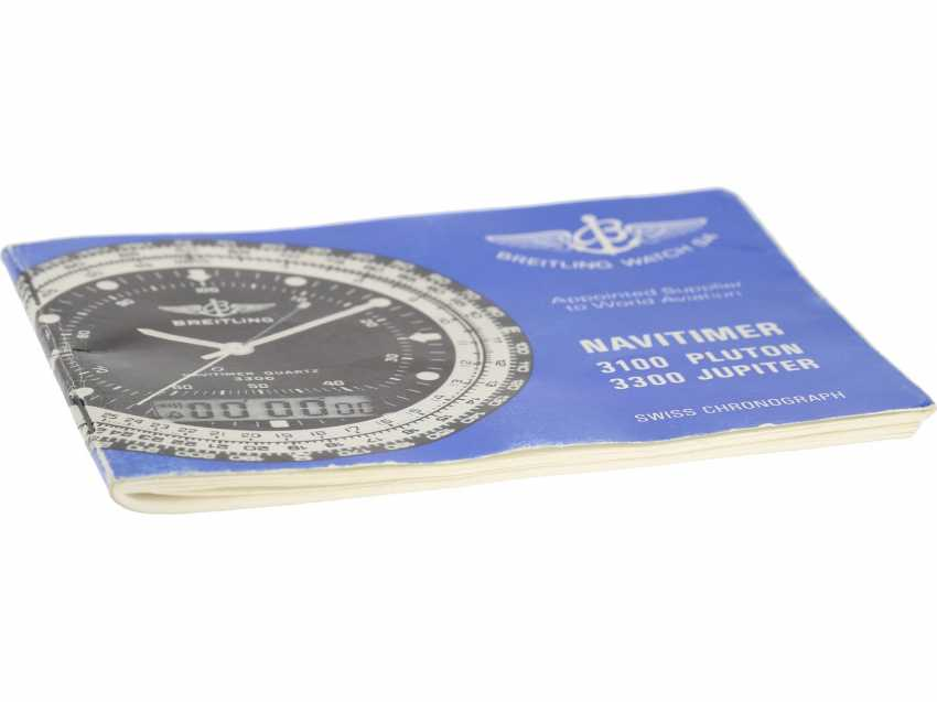 "Watch: rare Breitling Navitimer for the Iraq air force Breitling ""Jupiter Pilot Navitimer 3300"" Ref.80972, very rarely with Iraqi military marking - photo 3"