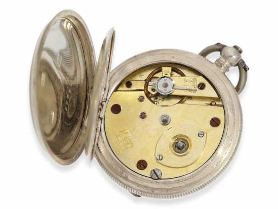 Pocket watch: rare enameled ladies savonnette for the Chinese market, Juvet No. 59690, CA. 1860 - photo 3