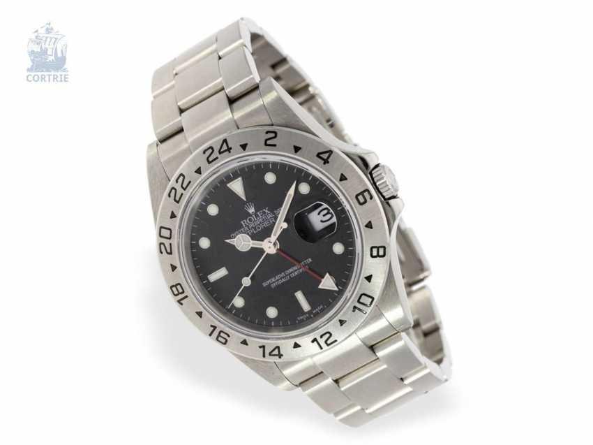 Watch: very beautiful men's watch in stainless steel Rolex Explorer II Ref.16570T of 2005 - photo 1