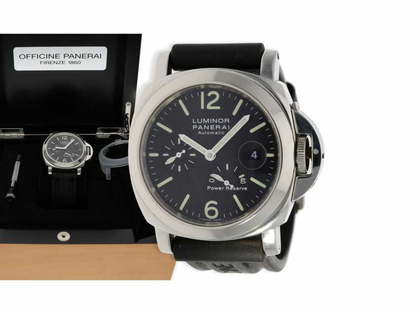 Wrist watch: high quality dive watch, Panerai Luminor Marina Power Reserve, Ref. OP6556, with original box and original papers 2002, in near mint condition - photo 1