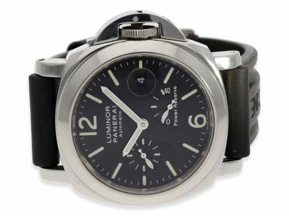 Wrist watch: high quality dive watch, Panerai Luminor Marina Power Reserve, Ref. OP6556, with original box and original papers 2002, in near mint condition - photo 2