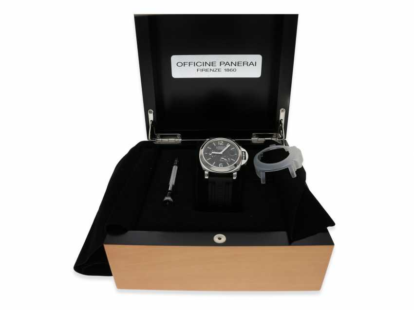 Wrist watch: high quality dive watch, Panerai Luminor Marina Power Reserve, Ref. OP6556, with original box and original papers 2002, in near mint condition - photo 3