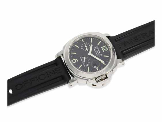 Wrist watch: high quality dive watch, Panerai Luminor Marina Power Reserve, Ref. OP6556, with original box and original papers 2002, in near mint condition - photo 7