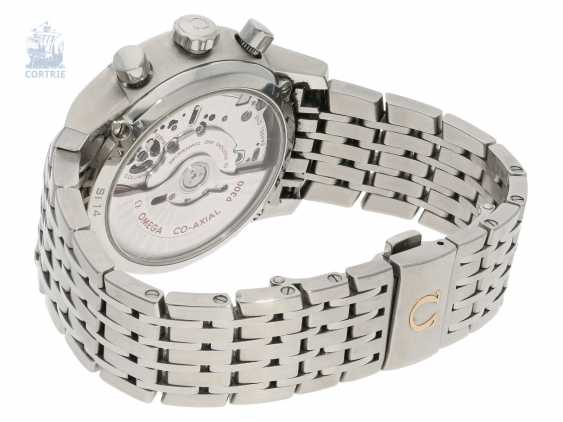 Watch: sport Chronograph, Omega De Ville Co-Axial automatic Chronometer in stainless steel - photo 2