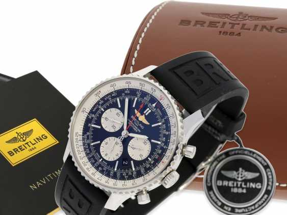 Wrist watch: high quality Breitling Chronometer Navitimer 01-46mm, reference AB012721/BD09, Full Set, Box, all papers, original label 7.350€ in 2016 with 5 years warranty from Wempe Hamburg - photo 5