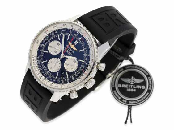 Wrist watch: high quality Breitling Chronometer Navitimer 01-46mm, reference AB012721/BD09, Full Set, Box, all papers, original label 7.350€ in 2016 with 5 years warranty from Wempe Hamburg - photo 6