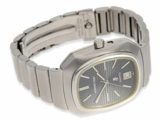 """Watch: vintage rare, """"Beta 21"""" Audemars Piguet in the rare Version with the original steel band, No. 100062/153574, CA. 1980 - photo 5"""