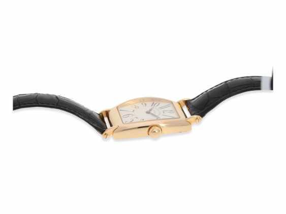 """Armbanduhr: hochwertige, roségoldene Herrenuhr in 18K Gold, Vacheron & Constantin """"Historic 1912"""" Barrel, Limited Edition mit Originalpapieren und Originaletui von 1998 - photo 3"""