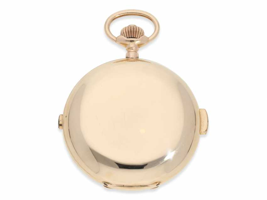 Pocket watch: very large and heavy, astronomical gold savonnette with 7 complications, including minute repeater, Picard & Cie. La Chaux-de-Fonds, made for the brothers Wirth in Russia, CA. 1895 - photo 8