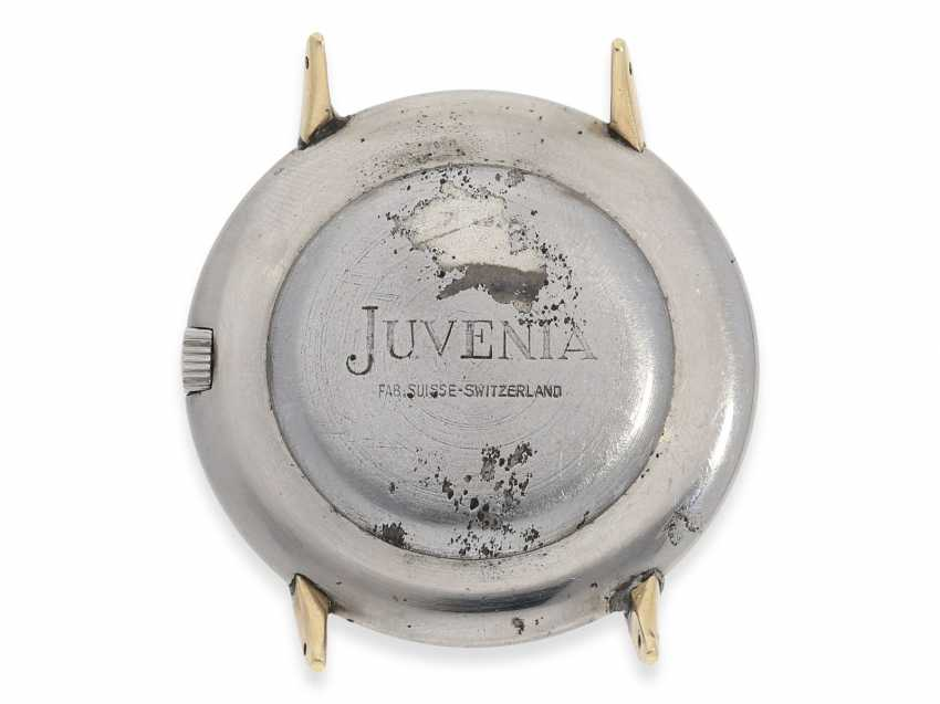 """Watch: rarity, extremely rare vintage men's watch with slide rule function """"JUVENIA ARITHMO"""", CA. 1950 - photo 2"""
