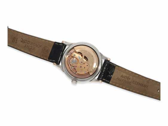 Watch: very attractive Omega Constellation Chronometer Calendar in stainless steel/rose gold Ref.2943-2-SC, with original box, called Constellation-Calendar Haji Abdullah Alireza & Co, 1959 - photo 4