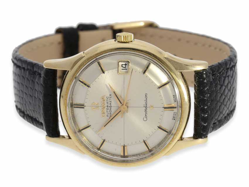 """Watch: very beautiful Omega Constellation Chronometer """"Pie-Pan"""", Ref.14393, built in 1961 - photo 1"""