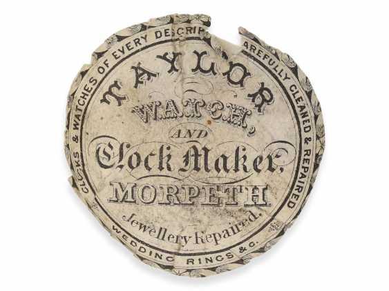 Pocket watch: extremely magnificent 18K dual enclosure-repair, replace-Spindeluhr with percussion, fantastic housing quality, Gédéon Esquivillon Genève, No. 3153, CA. 1750 - photo 6