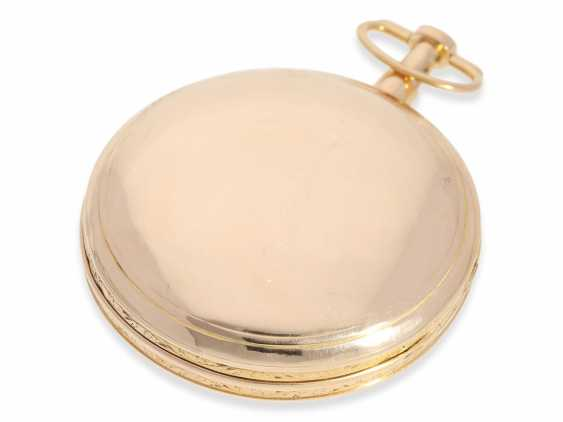 Pocket watch: heavy French blow werksuhr high quality, in 1810, signed Berthoud a Paris, approx. - photo 4