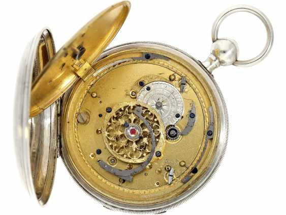 Pocket watch: very well-preserved, very fine French Percussion pocket watch with concealed erotic automaton, CA. 1820 - photo 5