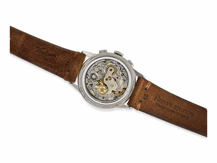 Watch: very rare and large stainless steel Chronograph from Movado, reference 19036, CA. 1955 - photo 4