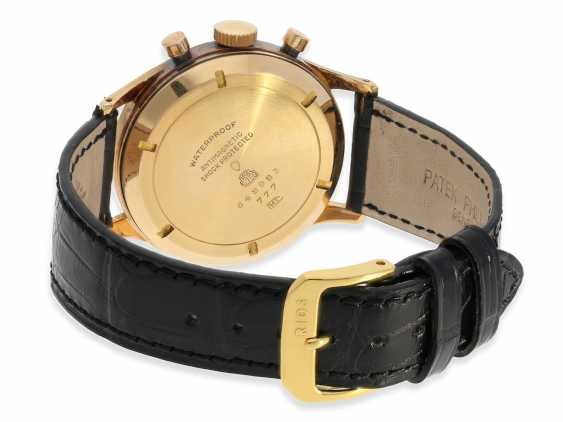 "Armbanduhr: rotgoldener Breitling Chronograph Premier ""Jumbo"" Ref.777, ca. 1948 - photo 2"