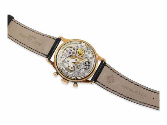 "Armbanduhr: rotgoldener Breitling Chronograph Premier ""Jumbo"" Ref.777, ca. 1948 - photo 3"