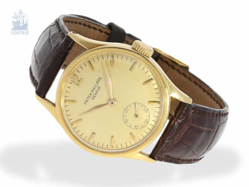 Watch: very fine and early watch of the Patek Philippe reference 96, Geneva, CA. 1937, with the master excerpt from the book - photo 1