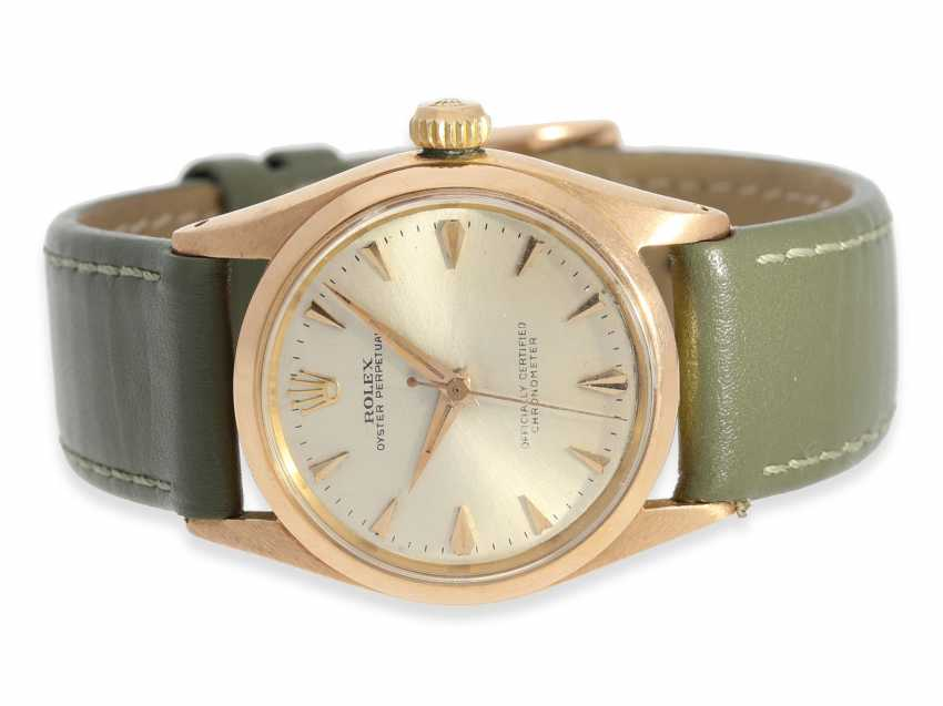 Watch: rare, high fine Golden-red Rolex Chronometer reference 6548, 1957 - photo 1