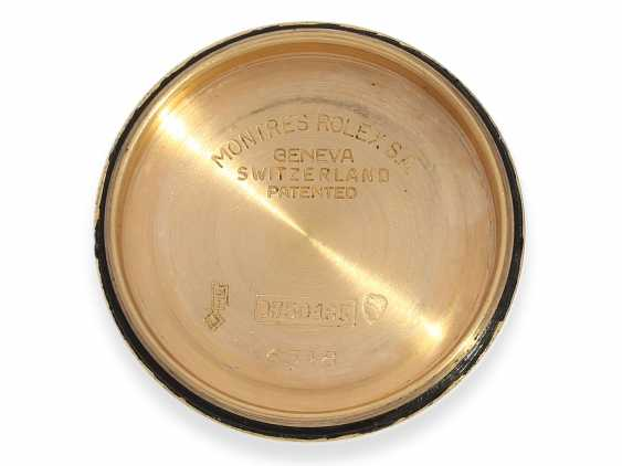 Watch: rare, high fine Golden-red Rolex Chronometer reference 6548, 1957 - photo 3