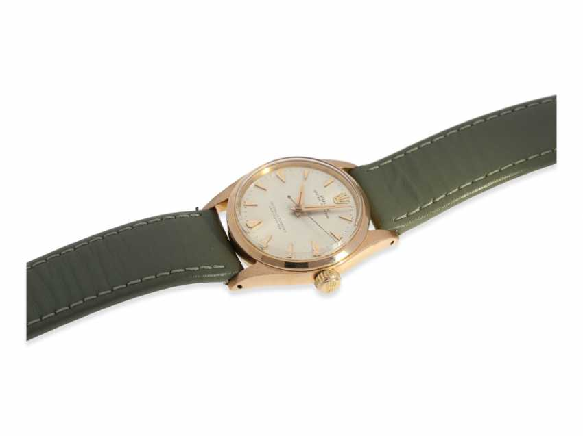 Watch: rare, high fine Golden-red Rolex Chronometer reference 6548, 1957 - photo 7
