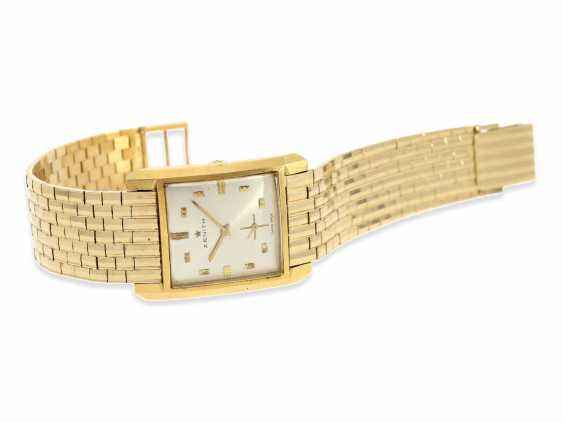 Watch: vintage men's watch brand Zenith, rare gold model, approx 1960 - photo 1