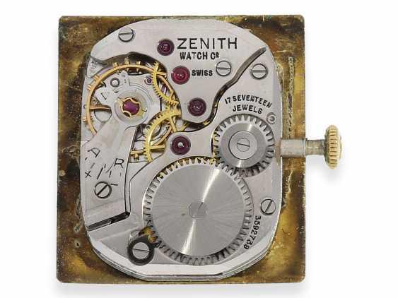 Watch: vintage men's watch brand Zenith, rare gold model, approx 1960 - photo 4