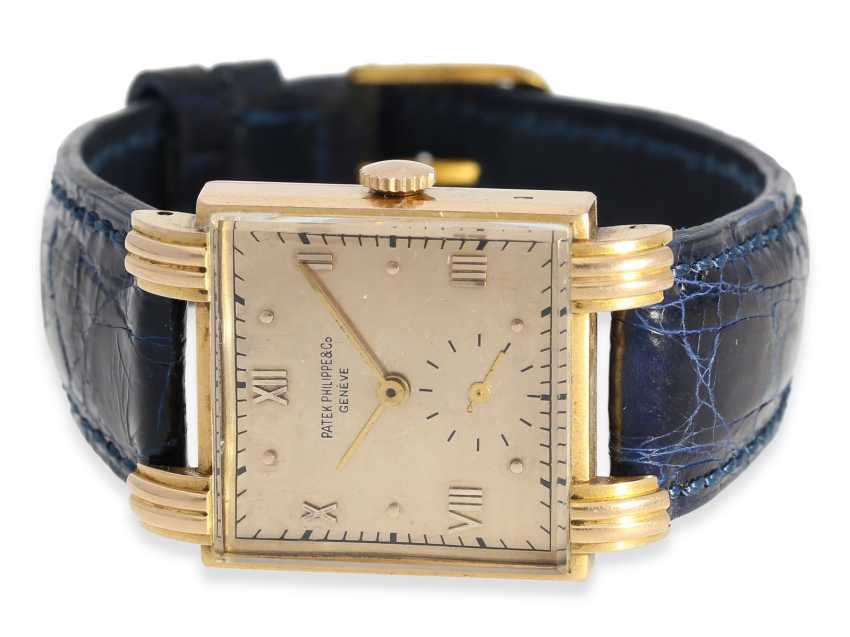 Watch: extremely rare Patek Philippe men's watch, one of the rarest references-40s, Ref.1567 in 18K rose gold, Geneva, in 1944, with the master excerpt from the book - photo 1