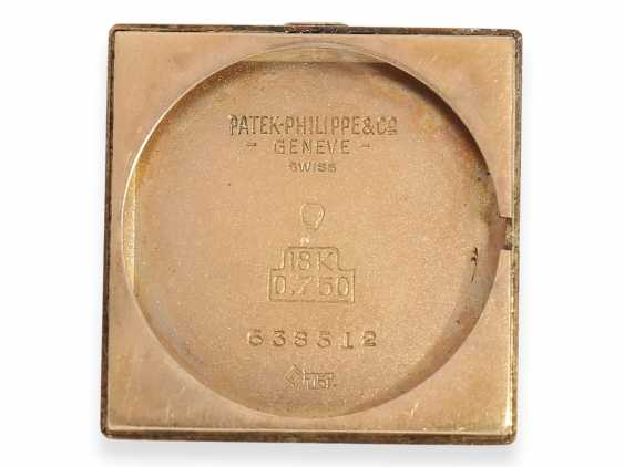 Watch: extremely rare Patek Philippe men's watch, one of the rarest references-40s, Ref.1567 in 18K rose gold, Geneva, in 1944, with the master excerpt from the book - photo 3