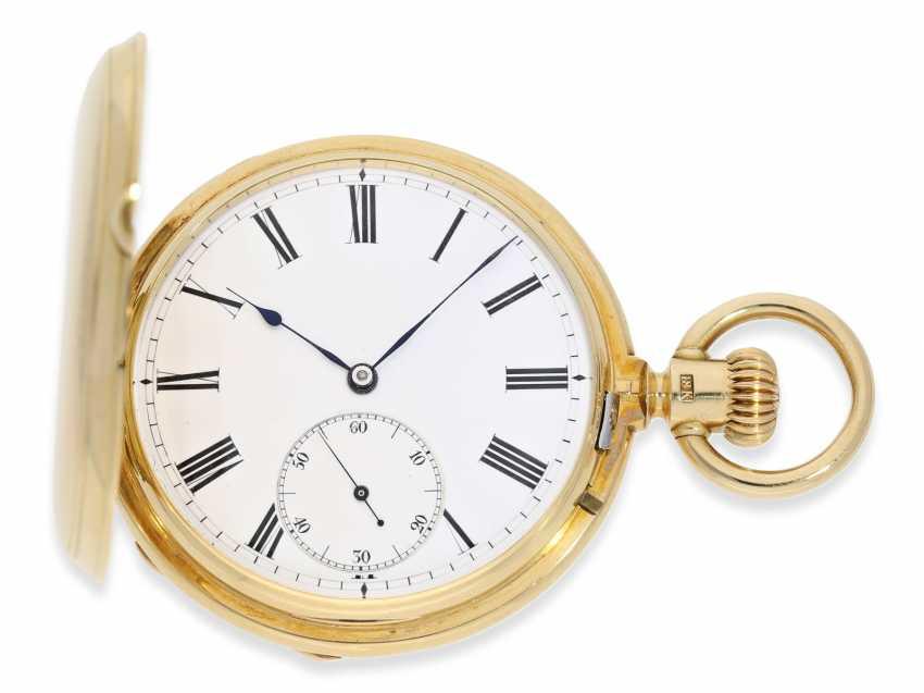 Montre de poche: Glashutte Rare, extrêmement rare Ankerchronometer Moritz Grossmann dans la Qualité 1A, N ° 5203, Verrerie environ 1870 - photo 1