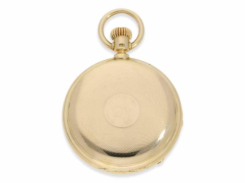 Montre de poche: Glashutte Rare, extrêmement rare Ankerchronometer Moritz Grossmann dans la Qualité 1A, N ° 5203, Verrerie environ 1870 - photo 2