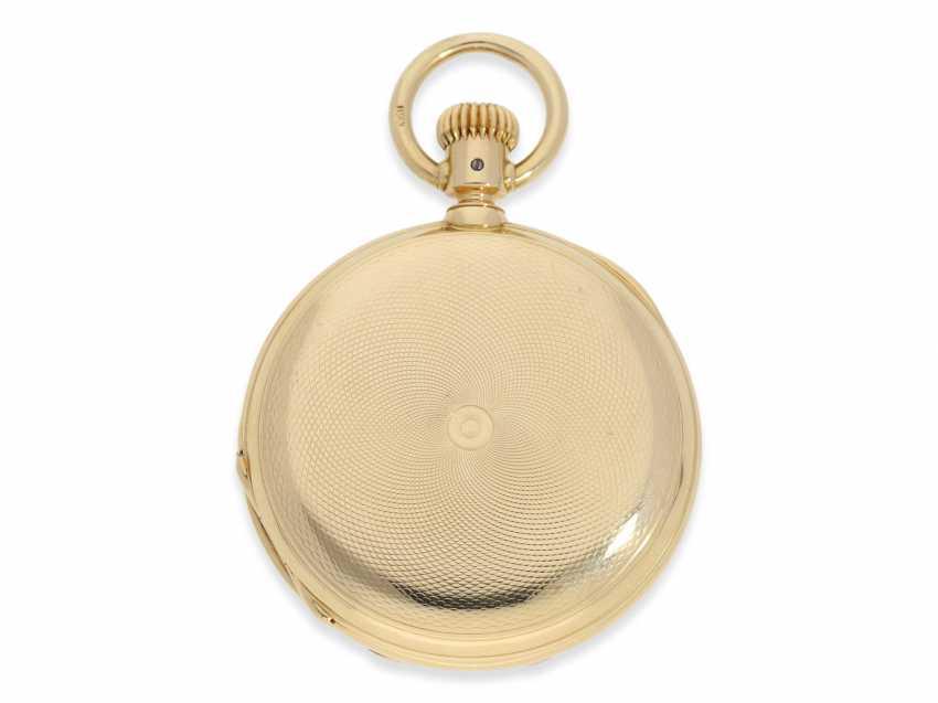 Montre de poche: Glashutte Rare, extrêmement rare Ankerchronometer Moritz Grossmann dans la Qualité 1A, N ° 5203, Verrerie environ 1870 - photo 3