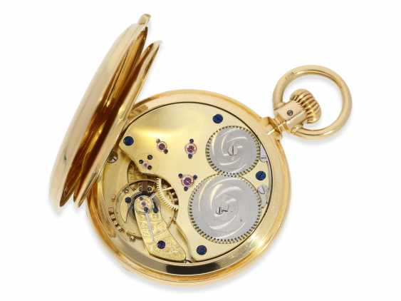 Montre de poche: Glashutte Rare, extrêmement rare Ankerchronometer Moritz Grossmann dans la Qualité 1A, N ° 5203, Verrerie environ 1870 - photo 4