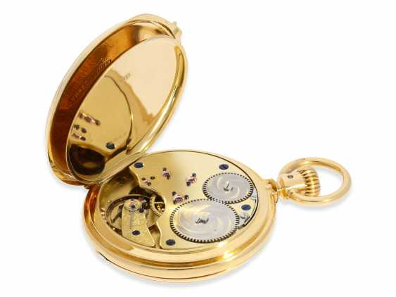 Montre de poche: Glashutte Rare, extrêmement rare Ankerchronometer Moritz Grossmann dans la Qualité 1A, N ° 5203, Verrerie environ 1870 - photo 5